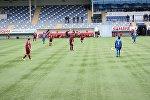 Международный футбольный турнир между парламентариями Азербайджана и Латвии