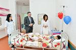 Первый вице-президент Азербайджана Мехрибан Алиева побывала в Центре талассемии