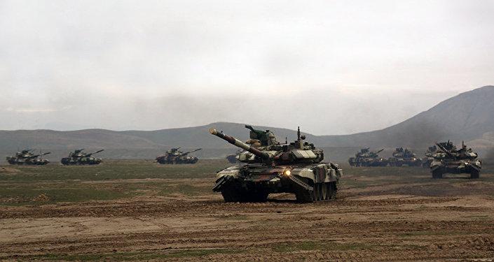 Начались широкомасштабные учения Азербайджанской Армии