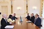 İlham Əliyev ATƏT Parlament Assambleyasının sədrinin rəhbərlik etdiyi nümayəndə heyətini qəbul edib