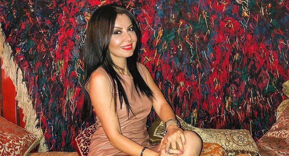 Азербайджанская ведущая Севиндж Джамалова