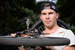 Hollandiyalı idmançı Tvan van Gendt, arxiv şəkli