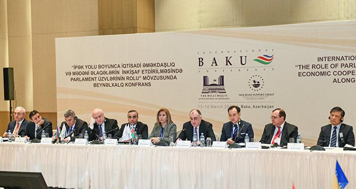 Международная конференция Группы поддержки Шелкового пути Парламентской Ассамблеи ОБСЕ в Баку