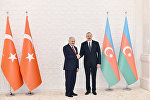 İlham Əliyev Türkiyənin Baş naziri Binəli Yıldırım ilə görüşüb