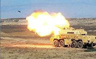 Учения ракетных войск ВС Азербайджана