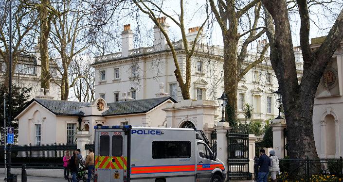 Rusiyanın Londondakı səfirliyinin binası