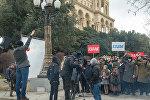 Съемки фильма, посвященного 100-летию Азербайджанской Демократической Республики