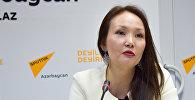 Представитель оргкомитета проекта Амина Конурбаева