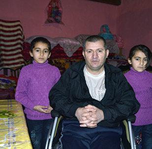 Житель села Буруг даг Лерикского района Акпер Дадиев