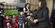 Sputnik Azərbaycan sığınacaqdakı uşaqları hədiyyəsiz qoymadı