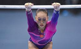Первый день финалов Кубка мира по спортивной гимнастике в Баку