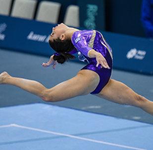 Финальный день Кубка мира FIG по спортивной гимнастике в Баку