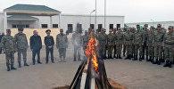 Представители Министерства Обороны и Военной Прокуратуры Азербайджанской Республики посетили воинские части