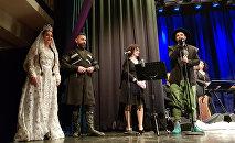 Сейран Исмаилханов исполнил народную песню Сары гялин на своем концерте в Германии