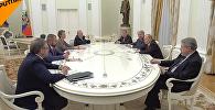 LIVE: Встреча Владимира Путина с доверенными лицами и экс-кандидатами на пост президента РФ