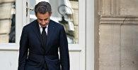 Экс-президент Франции Николя Саркози, 25 марта 2013 года