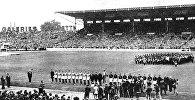 Чемпионат мира по футболу во Франции. Матч между сборными Италии и Вентрии, 18 июня 1938 года
