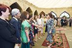Встреча первого вице-президента Мехрибан Алиевой с супругами руководителей дипломатических миссий