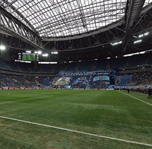 Стадион в Санкт-Петербурге, фото из архива