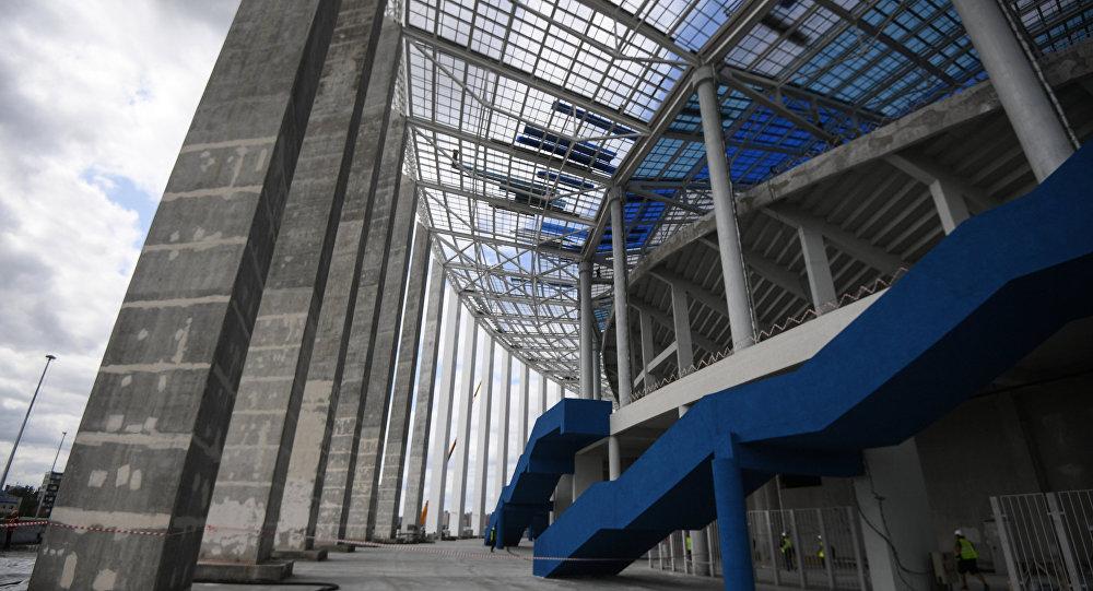 ВНижнем Новгороде сдали вэксплуатацию арену, построенную кЧМ— Стадион сдан