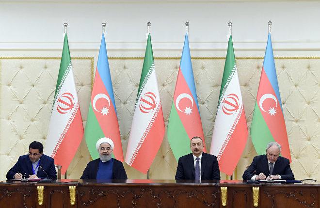 Подписание азербайджано-иранских документов