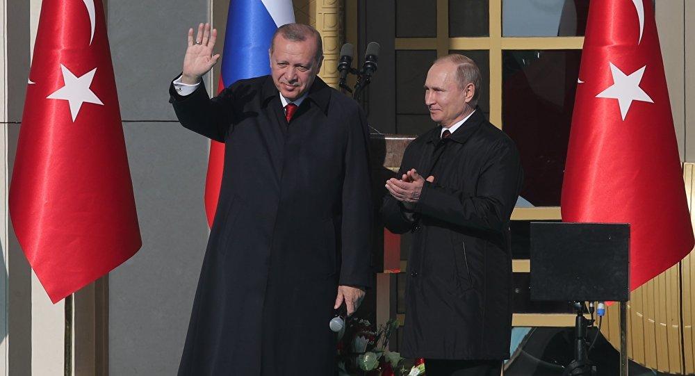 ПрезидентРФ Владимир Путин прибыл вАнкару сдвухдневным визитом