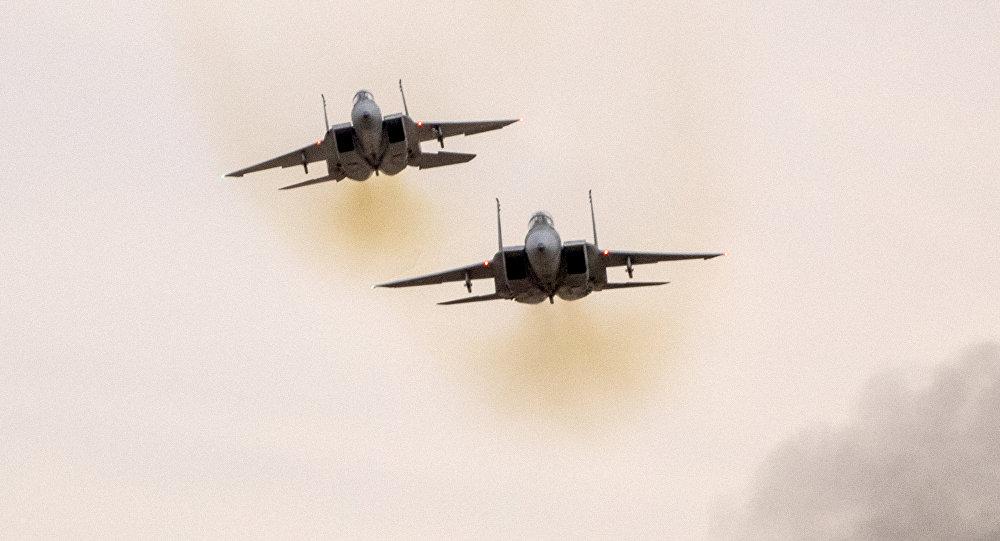 İsrail Hərbi Hava Qüvvələrinə məxsus iki F-15 təyyarəsi