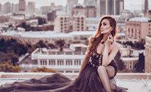 Известная азербайджанская модель Кенуль Азизова