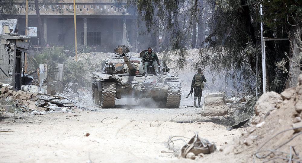 Военная милиция Российской Федерации взяла под контроль сирийскую Думу