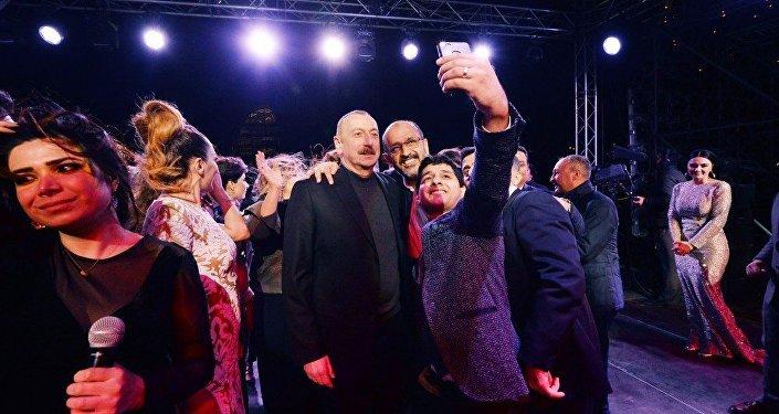 Президент на концерте ВИДЕО