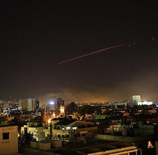Зенитный огонь над Дамаском