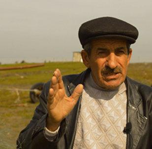 Азербайджанский рыбак похвастался своим уловом