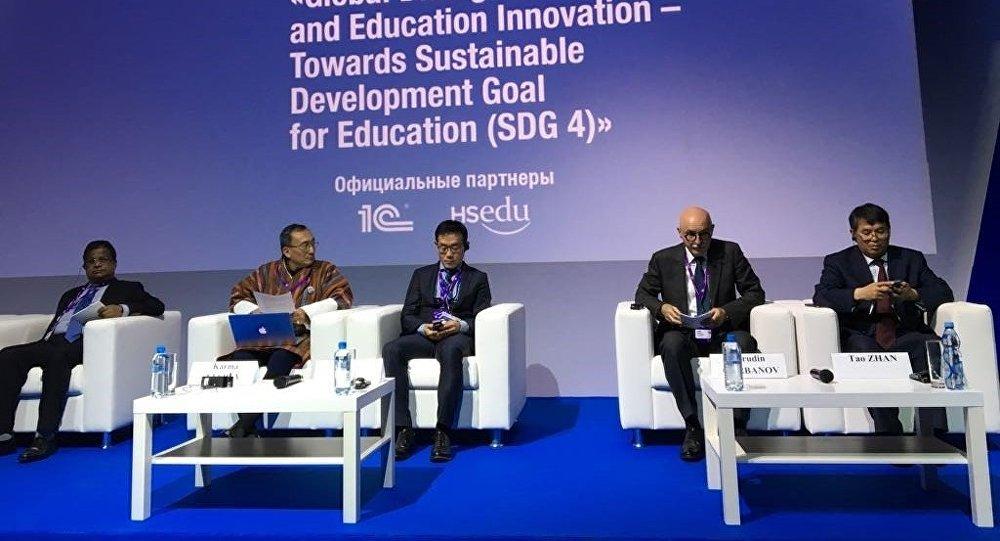 Пензенцы поведали окультурных проектах региона наМосковском международном салоне образования