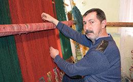 Создать красивый ковер способны и мужские руки
