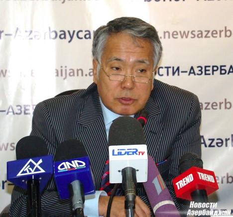 «С этой целью в Азербайджане нами был построен зерновой терминал, и нам бы хотелось не только накапливать зерно у вас, но и наладить его переработку», - отметил он.
